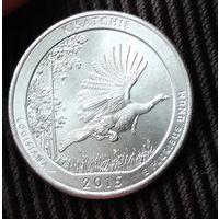 25  центов КВОТЕР  2015 США  парки Луизиана