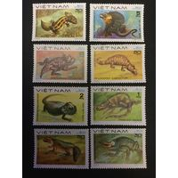 Ящерицы. Вьетнам. 1983, серия 8 марок