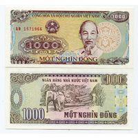Вьетнам 1000 донгов образца 1988 года UNC p106a