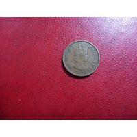 10 центов 1961 Гонконг