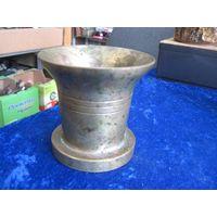 Ступка бронзовая, 9 см, 1,3 кг.
