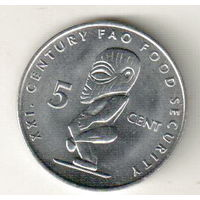 Острова Кука 5 цент 2000 ФАО