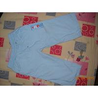 Летние штанишки-капри на мальчика 1 - 1,5 года