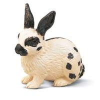 Собираем фигурки Шляйх (Германия) Фигурки кроликов(кролик пятнистый и кролик коричнево-черный )