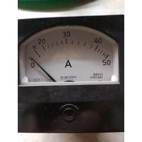 Прибор стрелочный щитовой э8033(амперметр)