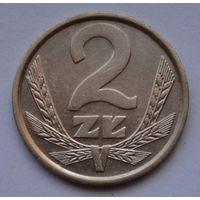 Польша 2 злотых, 1987 г.