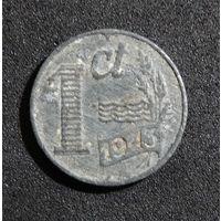 Нидерланды 1 цент 1943 г.