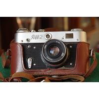 Фотоаппарат ФЭД 2 в родной упаковке с паспортом