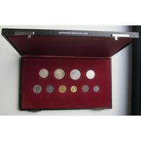 Третий Рейх. Нечастые и редкие монеты 1933-1945 годов. Подарочная коробка-футляр.