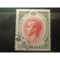 Монако 1969 князь Ренье 3 0,4фр