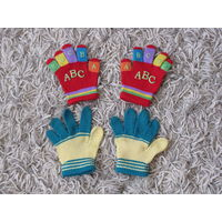 Перчатки для девочки, 4-5 лет