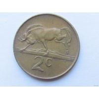 2 цента 1984 года. ЮАР