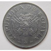 Боливия 50 сентаво 1997 г