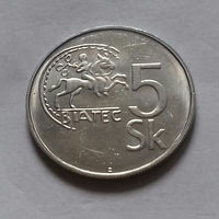 5 крон, Словакия 1995 г.