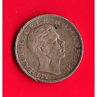 01-35 Румыния 200 лей 1942г. (серебро)