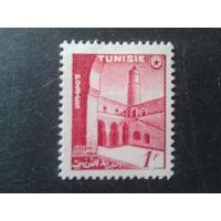 Тунис 1954 колония Франции стандарт