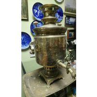 В.П. Данилов. Самовар на углях с подносом. 5 литров. XIX век. Не течет.