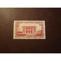 Французская Мартиника 1933 г.Форт де Франс: Правительственный дворец.
