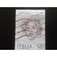 Италия 1979 А. Эйнштейн