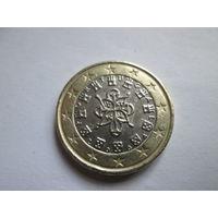 1 евро, Португалия 2004 г., AU