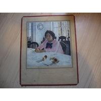 Репродукции Девочка с персиками 1887 год Серов В.А.