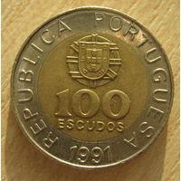 Португалия 100 эскудо 1991 год
