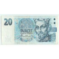 Чехословакия, 20 крон 1994 год.