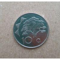 Намибия 10 центов 2009 (Republic of Namibia 10 cents 2009)