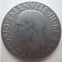 Италия 1 лира 1939 г. (d)