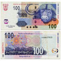 Южная Африка. 100 рэнд (образца 2010 года, P131b)