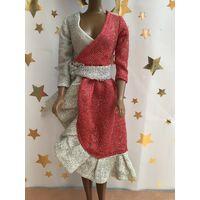 Винтажное платье для куклы Барби