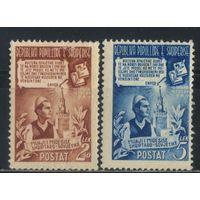 Албания НСР 1949 Месячник албано-советской дружбы Полная #465-6*