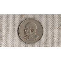 Кения 50 центов 1966 //(GB)/