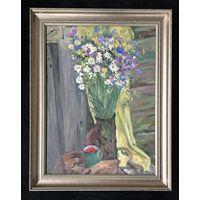 "Лихоненко Н.И. ""Натюрморт с цветами"";50,5/70 см;х/м"