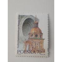 Польша 1996. Архитектура церквей.