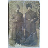 Дореволюционное фото военных. 1912 г. 8.5х13 см.