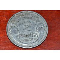 Франция 2 франка 1948