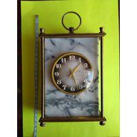 Часы СССР МОЛНИЯ каминные в мраморе