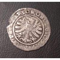 1530 грош  Сигизмунд I Старый (1506-1544 ) грош для земель прусских
