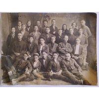 Съезд работников Союзпечать 1934 г Уральск коллективное фото