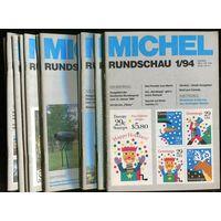 Michel Rundschau. Годовой комплект 12 номеров за 1994