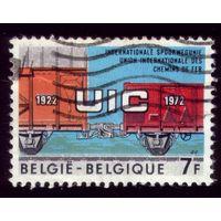 1 марка 1972 год Бельгия 1681
