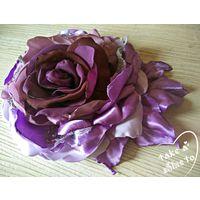 Пурпурная Роза-Брошь