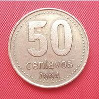 64-15 Аргентина, 50 сентаво 1994 г.