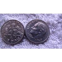 США 10 центов 2002г D. распродажа