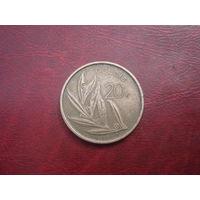 20 франков 1982 Ё года Бельгия