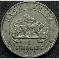 Бр. Восточная Африка 1 шиллинг 1948 (43)