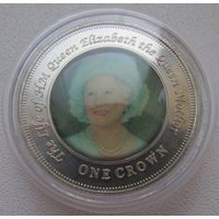 Распродажа! Остров Найтингейл (Тристан-да-Кунья) 1 крона 2005 (2) Все монеты с 1 рубля!!