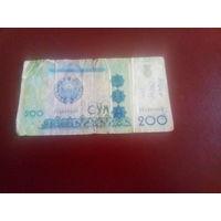 Узбекистан 200сум 1997г.