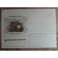1983 не маркированный конверт Саглио